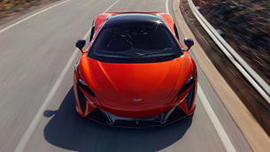 mclaren will present new artura at the first edition of the milano monza open-air motor show