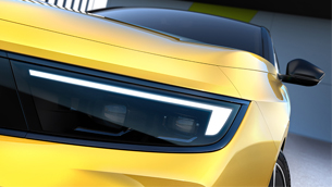 Vauxhall reveals the first images of the new Astra model