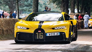 Bugatti reveals three special models at the Goodwood Festival of Speed