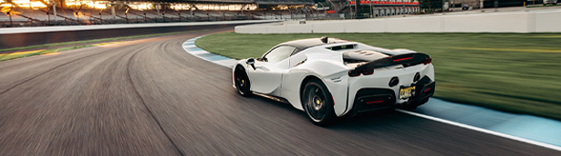 Ferrari SF90 Stradale sets car lap record at Indianapolis Motor Speedway circuit