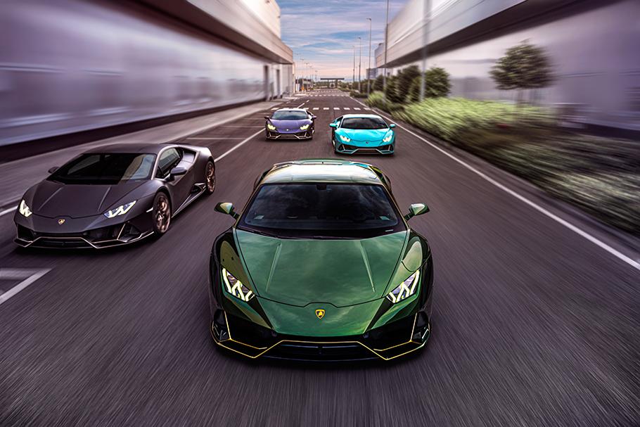 2021 Lamborghini Huracan Evo Special Edition