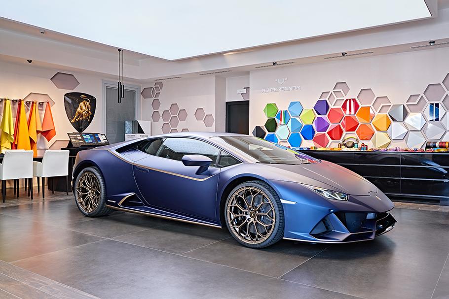 2021 Lamborghini Huracan Evo Special Edition Death
