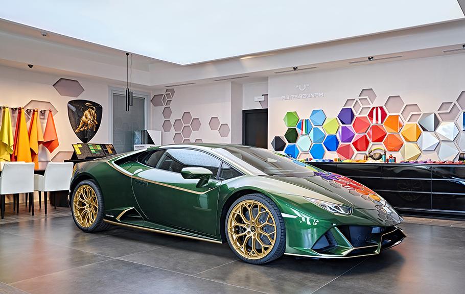 2021 Lamborghini Huracan Evo Special Edition Vita