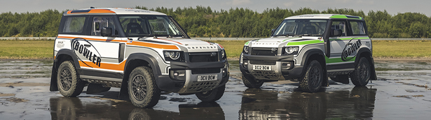 Bowler Motors team transforms a lucky Defender into a rally beast