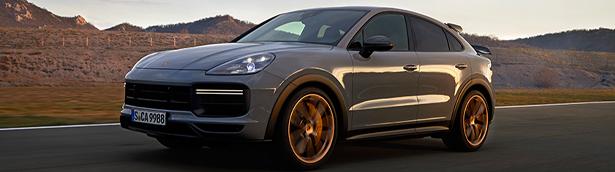 Porsche showcases new Cayenne Turbo GT