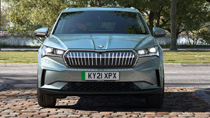 new skoda enyaq iv can be specified with crystal face upgrade