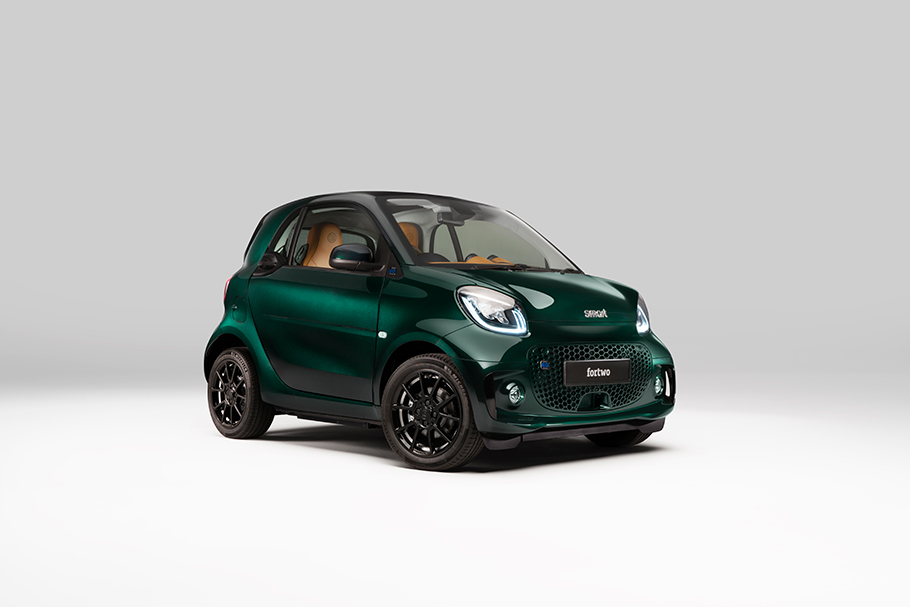 2021 Smart fortwo Racing Green