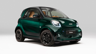 Check out this neat Smart fortwo with some neat BRABUS enhancements