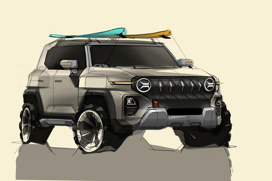 2021 SsangYong SUV Sketch