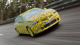 Vauxhall team advances with the tests of the new Astra model
