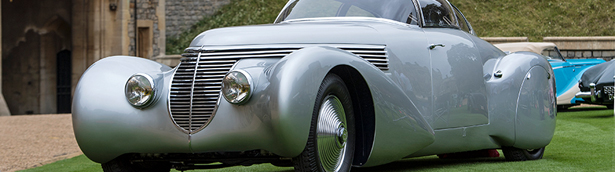 Concours of Elegance celebrates its 10th anniversary with a special event