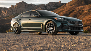 2022 Kia Stinger earns Top Safety Pick Plus award by the Insurance Institute of Highway Safety
