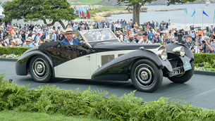 Vintage Bugatti vehicles win numerous prizes at the Monterey Car Week event