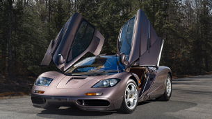 McLaren F1 road car sets a record $20.465 million at Gooding & Company's Pebble Beach Auctions