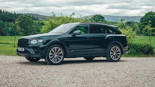 Bentley brings an exclusive Bentayga Hybrid to The Macallan Estate