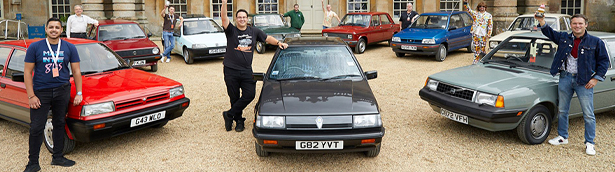 1989 Proton 1.6 GL Black Knight is the winner at this year's Hagerty Festival of the Unexceptional