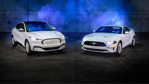 Ford reveals a new Ice White upgrade pack for the Mustang lineup for the first time in almost 30 years