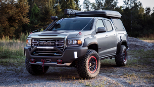 gmc reveals the new canyon at4 ovrlandx concept machine