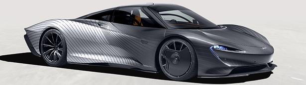 McLaren pays tribute to the first Speedtail attribute prototype, Albert