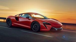 McLaren unveils new Artura hybrid hypercar at the British Motor Show this August