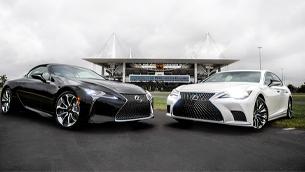 Lexus and Miami Doplhins announce a strategic partnership