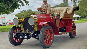 National Motor Museum showcases the special vehicle from Wind in the Willows