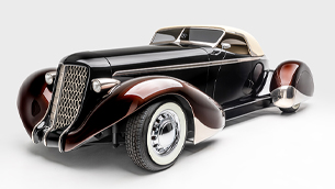 Metallica's James Hetfield showcases his collection of hot rods at a special event