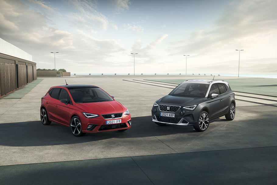 2021 SEAT Ibiza Arona British Motor Show