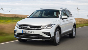 New VW Tiguan eHybrid can be ordered from today!