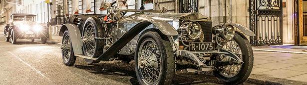 An iconinc Rolls-Royce Silver Ghost recreates its triumphant London-Edinburgh run after 110 years