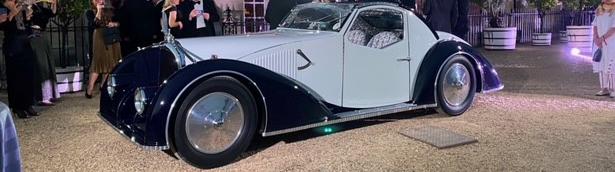 The stunning 1934 Voisin Type C27 wins yet another award!