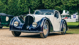 An unique Voisin C-27 Aérosport wins 'Best in Show' at Concours of Elegance 2021