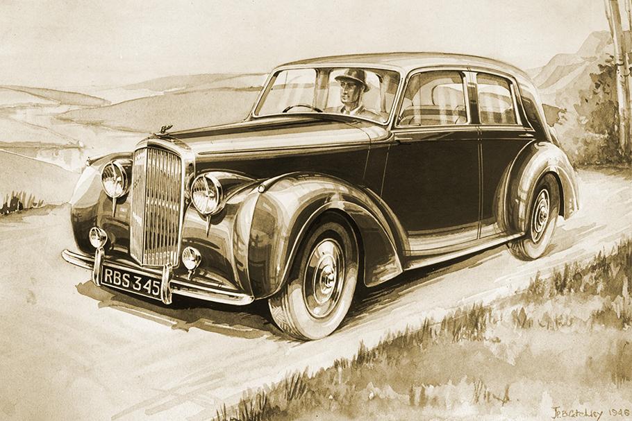 1951 Bentley Continental R-Type