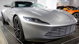 Petersen Automotive Museum exhibits the largest official gathering of vehicles from James Bond films