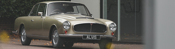 The Alvis Car Company team has completed the first post-war Continuation Series Graber Super Coupé