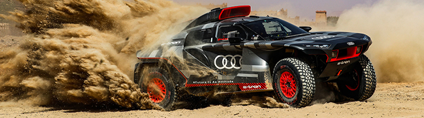 Audi Dakar team heads to Morocco to test out the mighty RS Q e-tron