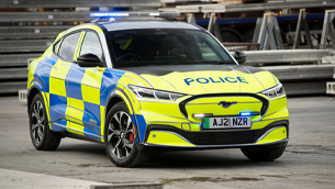 Ford  develops law enforcement version of the Mustang Mach-E
