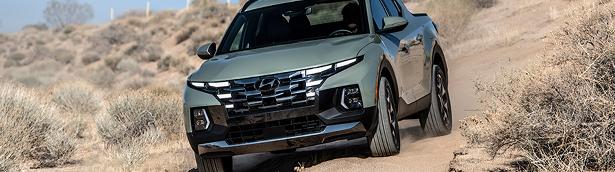 Hyundai Santa Cruz is name Best Pickup Truck Award from Northwest Automotive Press Association