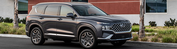 2021 Hyundai Santa Fe receives TOP SAFETY PICK PLUS award by the IIHS