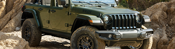 New Jeep Wrangler Willys can now be geared with Xtreme Recon Package