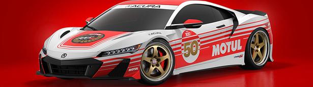 Motul Oil celebrates its 50th anniversary of 300V racing oil at the 2021 Acura Grand Prix