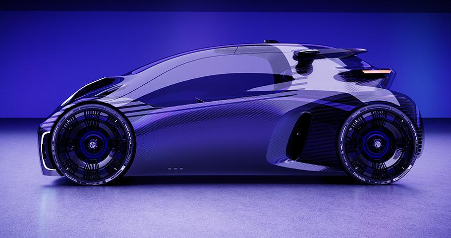2021 SAIC MG MAZE Concept