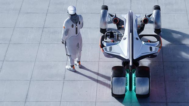 SAIC Design showcases the futuristic R RYZR concept