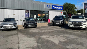 ssangyong motors opens holt ssangyong in derby