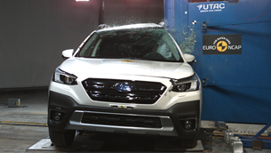 New Subaru Outback receives the maximum of five-star overall rating by EuroNCAP