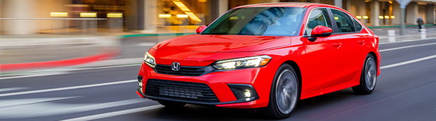 2022 Honda Civic Sedan is awarded with TOP SAFETY PLUS rating by the IIHS